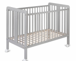 YappyStar cot, light grey LIMITED