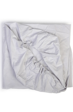 YappyGrey fitted cot sheet